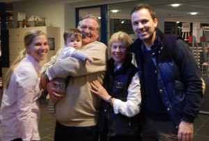 Una famiglia: die Muermanns mit Enkel Moritz.