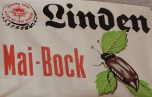 Gab es auch einmal: ein Bockbier aus der Lindenbrauerei, die bis 1979 in Betrieb war. (Fotos: Simone Melenk)