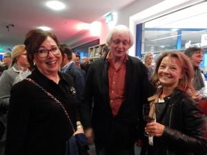 Freunde und seit jeher Förderer des Liichtkunstzentrums: (v.l.) Mechthild Weicken, Albert Hartmann und Sabine Berndsen.