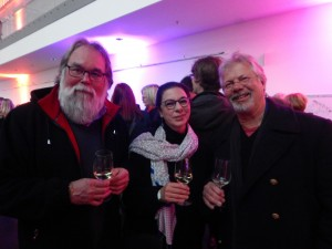 Stadtgeschichte trifft gerne auch die Kunst: (v.l.) Wolfgang Patzkowsky, Frauke und Dietmar Nowodworski.