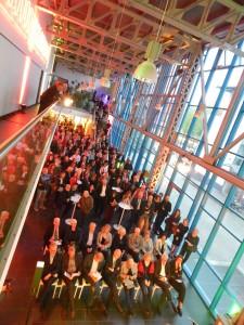 Selten war die Schwankhalle so voll wie bei der Preisverleihung ILAA 2017. Fotos: Simone Melenk