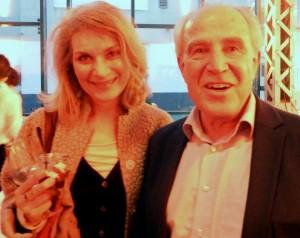 Ein Kämpfer für das Lichtkunstzentrum: Ex-Kulturdezernent Axel Sedlack mit seiner Ehefrau Elisabeth Sedlack-Zeidler, der langjährigen Chefin der Konzertreihe mommenta.