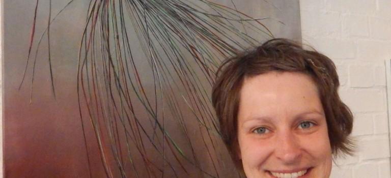 Ausgezeichnet: Die junge Malerin Eilike Schlenkhoff