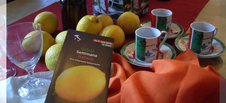 Un(n)a Settimana Italiana – eine italienische Woche in unserer Stadt